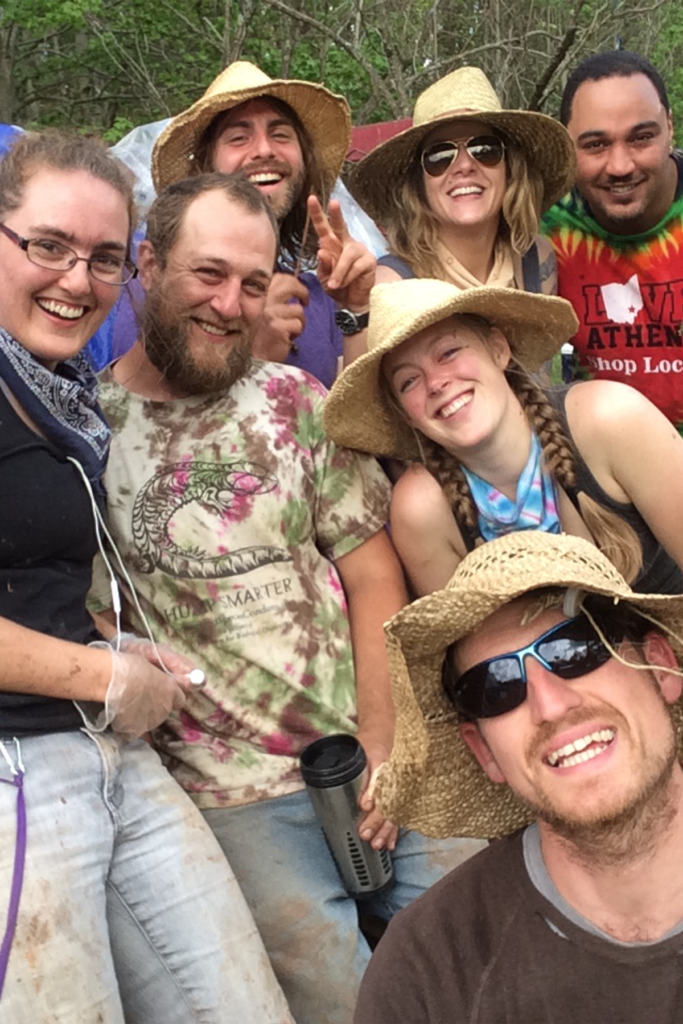 Zero Waste Event Production's Team 2016 at Paradise Music Festival.
